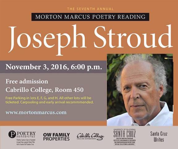 Morton Marcus Memorial Reading